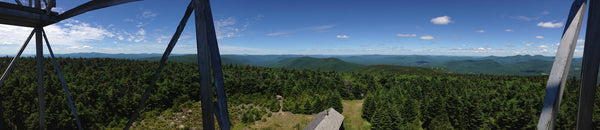 View from a Catskills fire tower