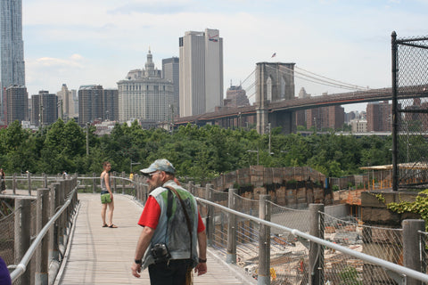 The Squibb Park Bridge in Brooklyn