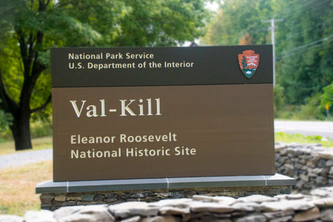 Val-Kill National Historic Site Sign