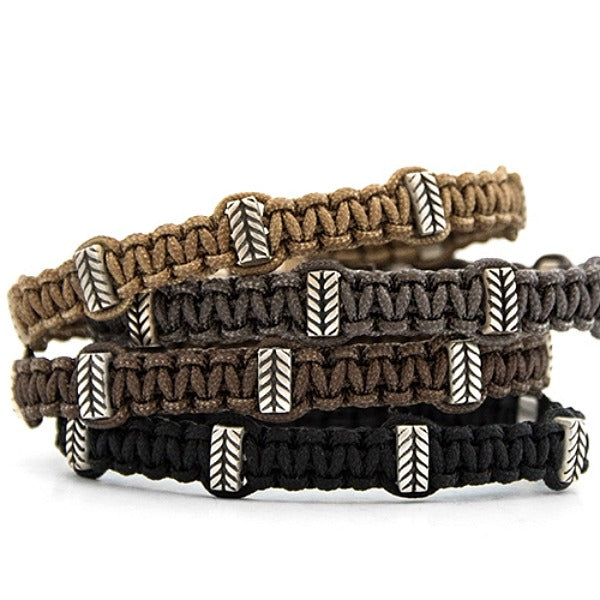 Leandro Macrame Bracelet - Zadeh - New York Makers