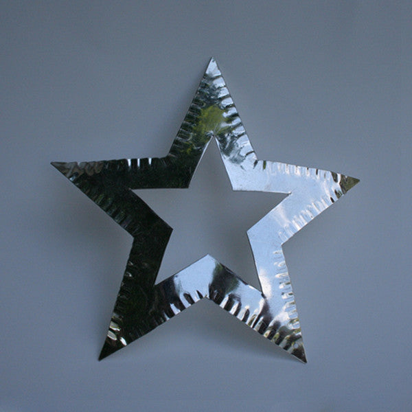 Double Star Tin Ornament - Art Thorman - Tinsmith - New York Makers