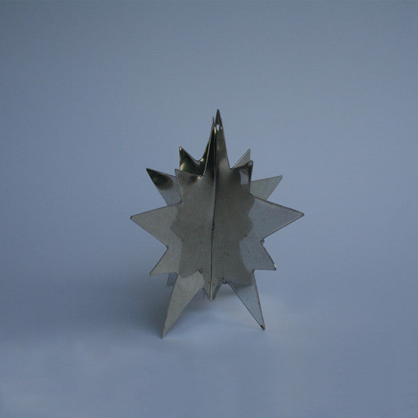 Starburst Tin Ornament - Art Thorman - Tinsmith - New York Makers