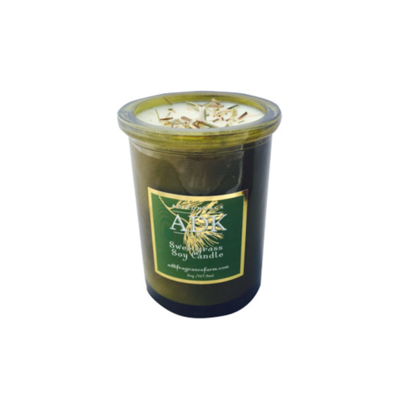 Adirondack Sweetgrass Candle - Adirondack Fragrance & Flavor Farm - New York Makers