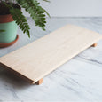 Maple Footed Serving Board