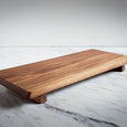 Footed Walnut Serving Board