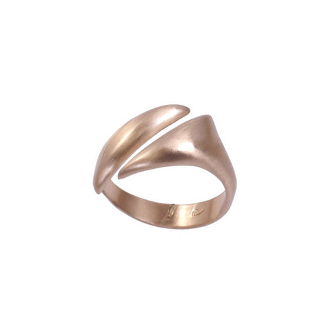 """Adrift"" Diagonal Ring in Multiple Finishes"