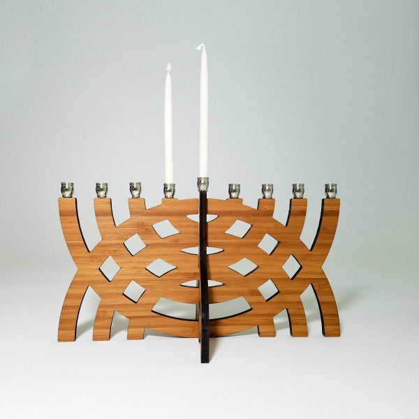 Intersecting Arcs Menorah - GioGio Design - New York Makers
