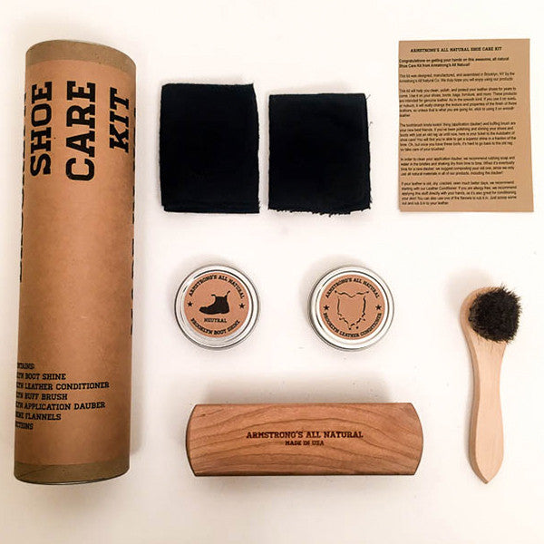 All-Natural Shoe Care Kit