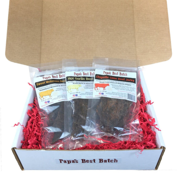 Assorted Beef Jerky Gift Box