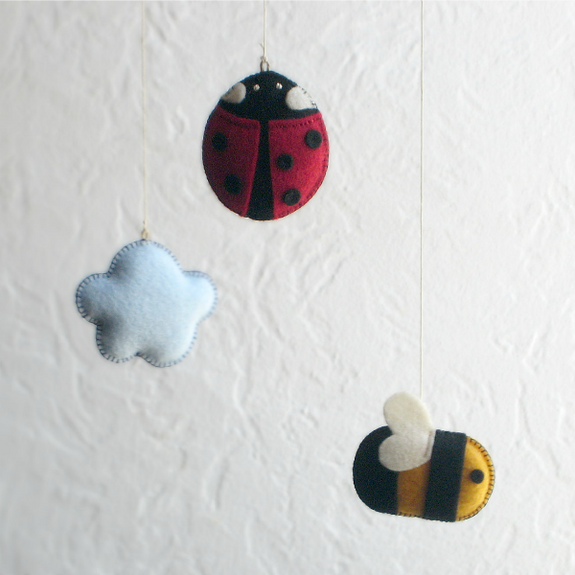 Ladybug and Bee Mobile