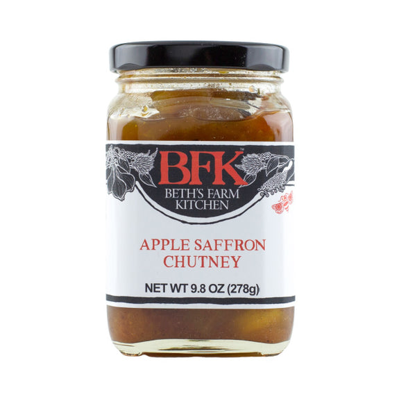 Apple Saffron Chutney