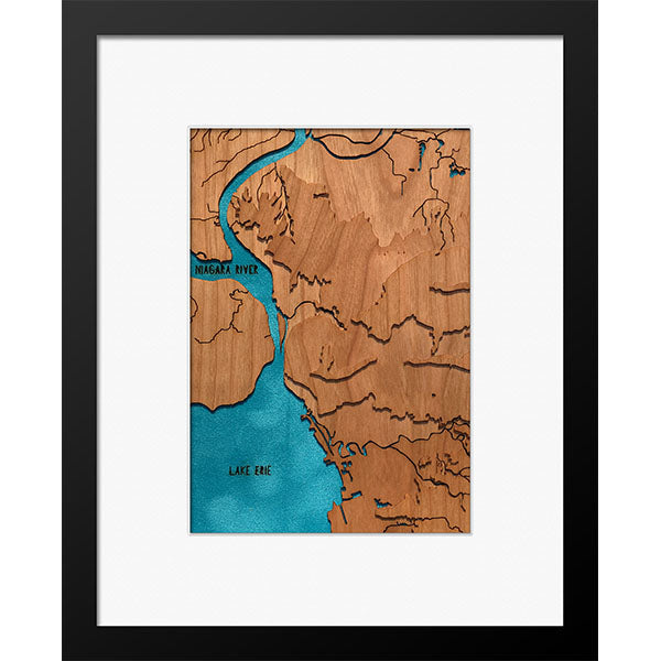 "Buffalo, NY 8"" x 10"" Frame in Multiple Finishes - Squirrel Hill Design and Craft - New York Makers"