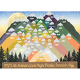 NY's 46 Adirondack High Peaks Scratch Off Card - Peak Quest - New York Makers