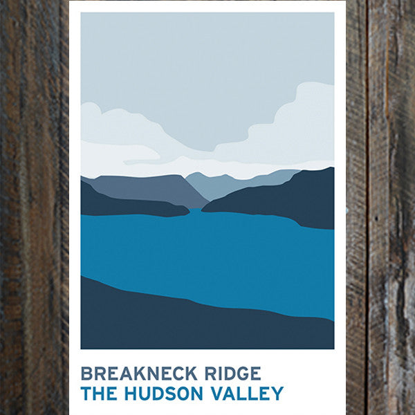 Breakneck Ridge Print - Bold Version Design - New York Makers