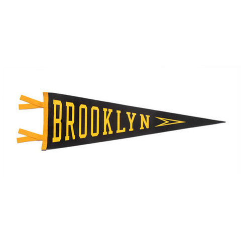"""Brooklyn"" Vintage-Inspired Pennant"