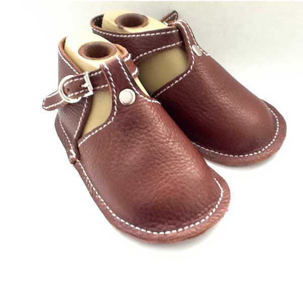 Baby Shoes with Buckle in Multiple Colors