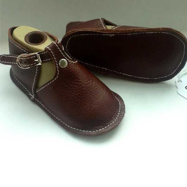 Baby Shoes with Buckle in Multiple Colors - Chickpea Kid - New York Makers