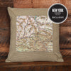 Catskills Topographic Pillow