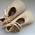 Lambskin Baby Ballet Shoes in Multiple Colors - Chickpea Kid - New York Makers