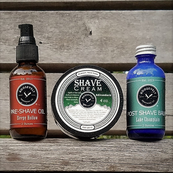 Complete Shave Kit - Roosevelt Grooming Co. - New York Makers