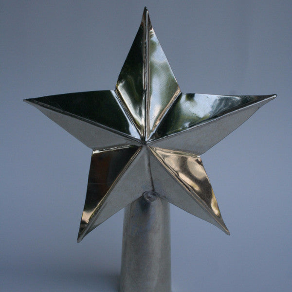 Old-Fashioned Tin Christmas Tree Topper