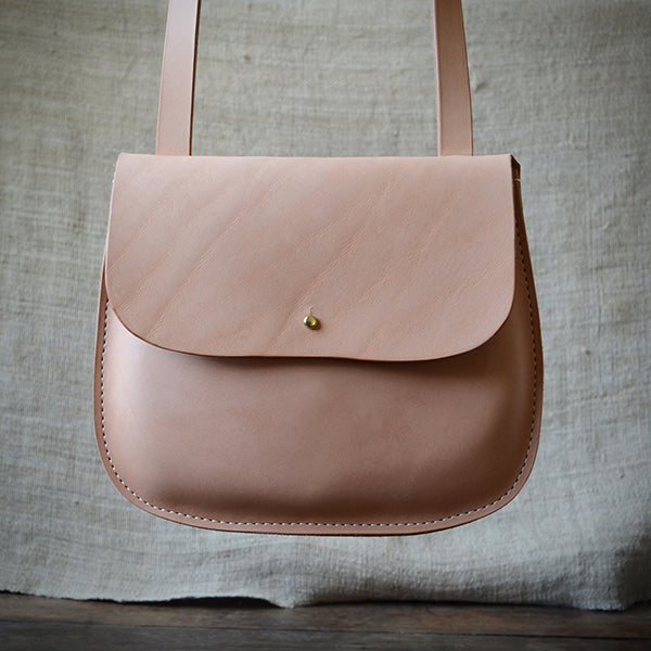 Leather Crossbody Bag - Talouha - New York Makers