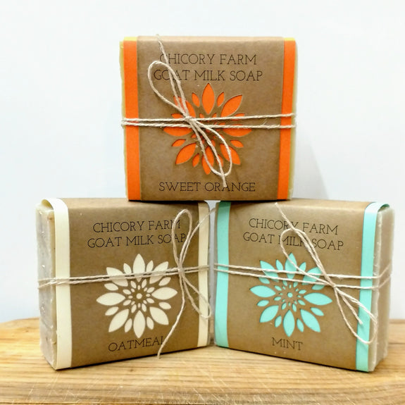 Crowd Pleaser Soap Sampler - Chicory Farm Soap - New York Makers