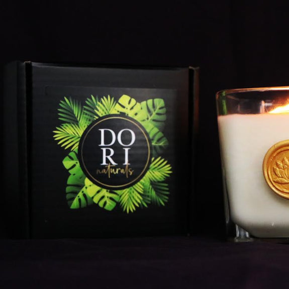 White Lotus Candle