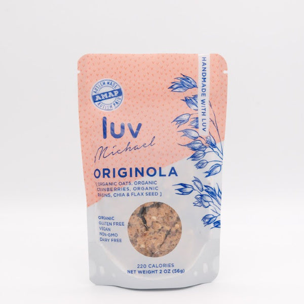 Organic Gluten and Diary-Free Originola Granola - Luv Michael - New York Makers