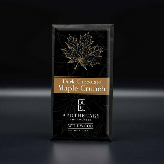 Dark Chocolate Maple Crunch - Apothecary Chocolates - New York Makers