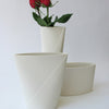 Porcelain Envelope Vase - Medium
