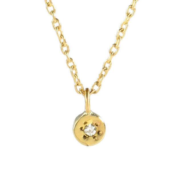 Estrella Orion Pendant Necklace with Color Stones