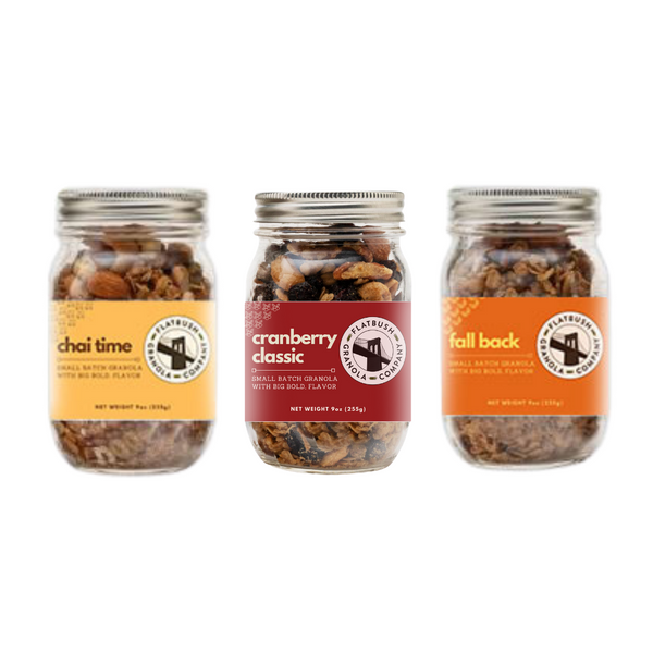 Flatbush Flight Gluten-free Granola Sampler
