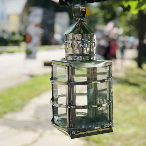 Fort Klock Lantern - Art Thorman - Tinsmith - New York Makers