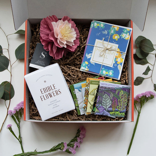 """Growth"" Gardener Gift Box from New York Makers"