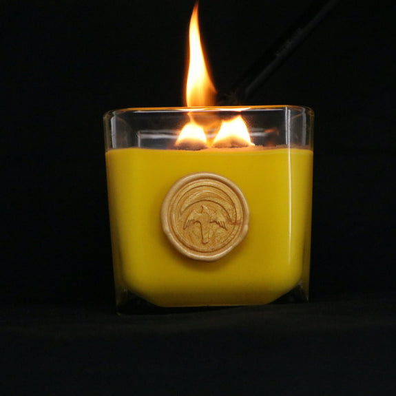 Golden Light Candle