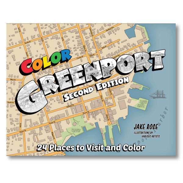 Greenport Coloring Book