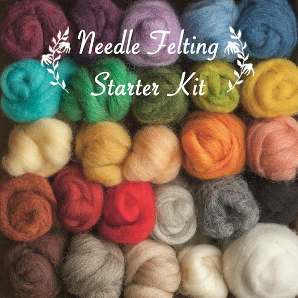 Needle Felting Starter Kit - Grey Fox Felting - New York Makers