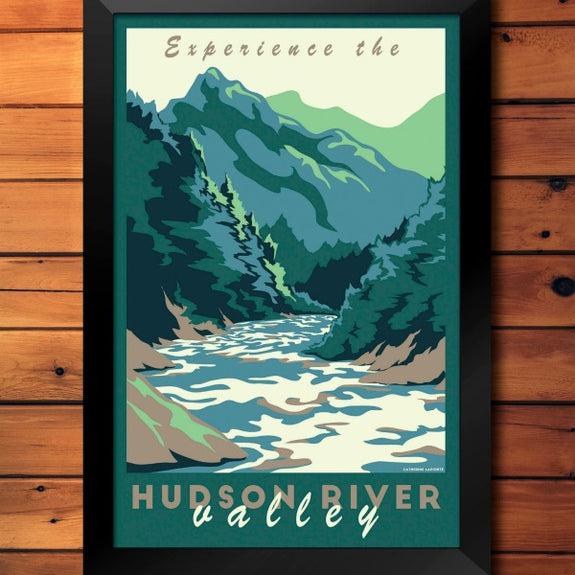 Hudson River Valley Print - Lionheart Graphics - New York Makers
