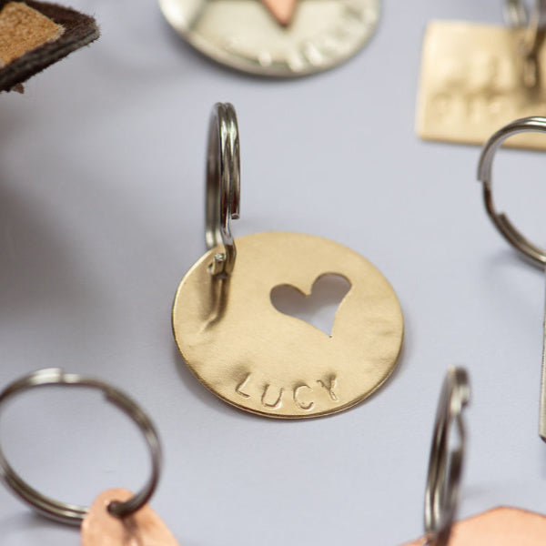 Heart Pet ID Tag - Be In the Moment - New York Makers