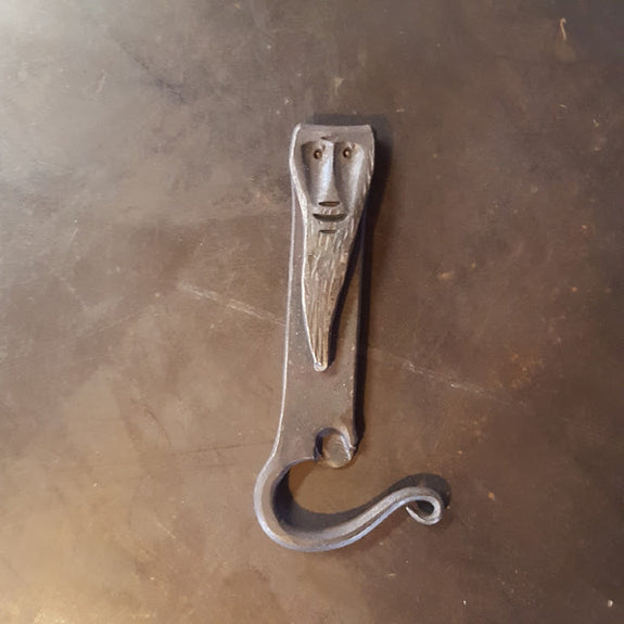 Beer Dude Bottle Opener - The Helderberg Blacksmith - New York Makers