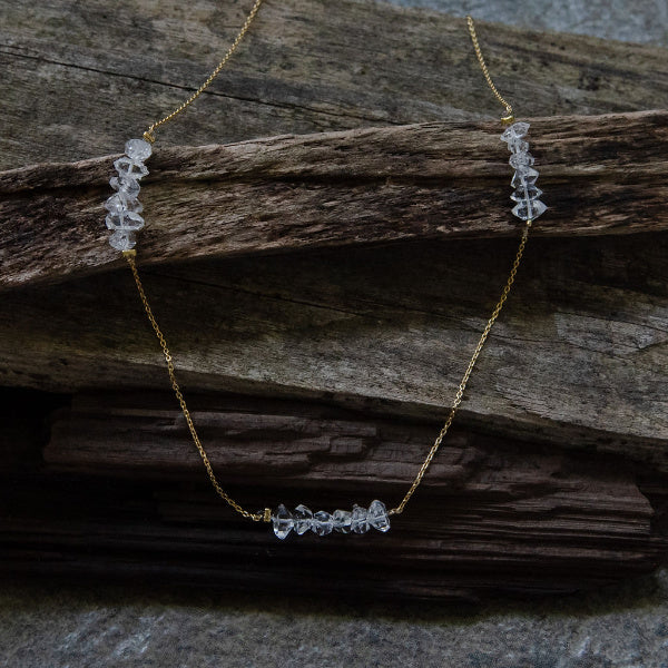 The Herkimer Diamond Necklace III