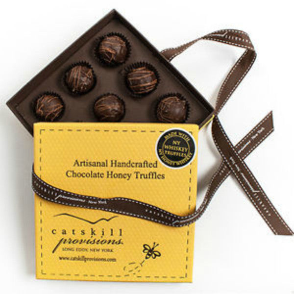 Chocolate Honey Whiskey Truffles