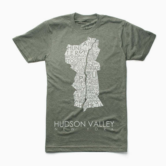 Hudson Valley Tee - MW Neighborhoods - New York Makers