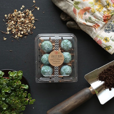 Organic Earth Seed Bombs