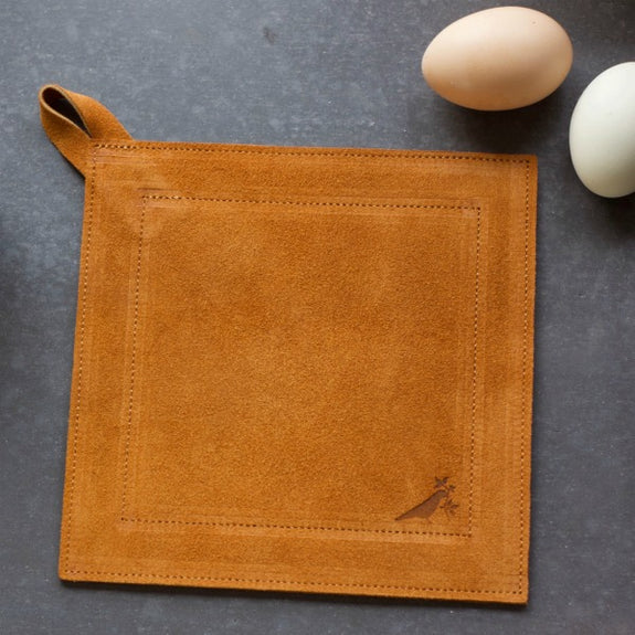 Suede Potholder in Multiple Colors - Ernst & Co. - New York Makers