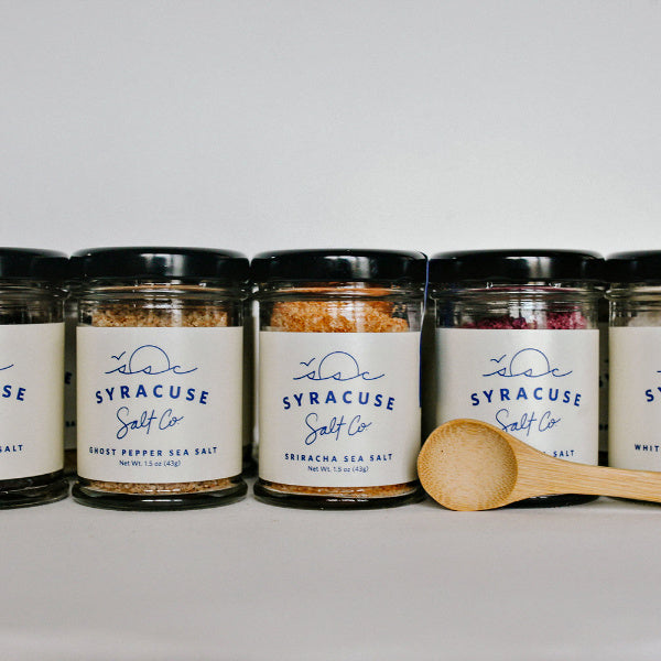 Gourmet Salt Sampler - Syracuse Salt Company - New York Makers