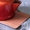Kitchen Trivet in Natural Leather