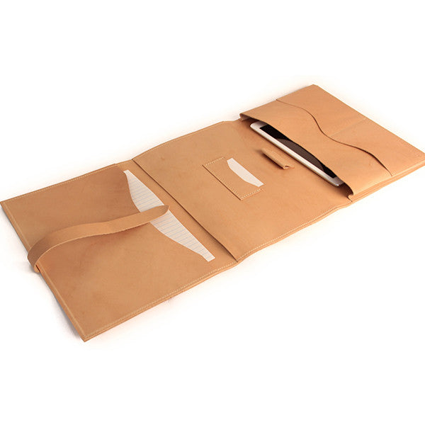 Leather Portfolio in Multiple Shades