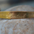 """Montauk"" Engraved Men's Bracelet"